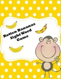 Rotten Bananas Sight Word Game