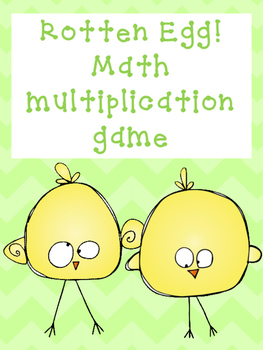Rotten Egg Multiplication Game