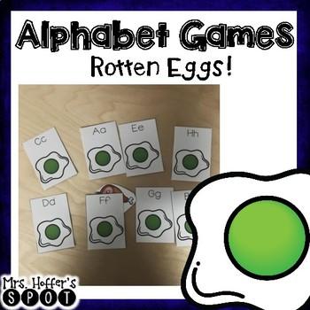 Rotten Eggs Alphabet Game