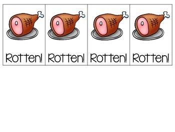Rotten Eggs {CVC Nonsense Words}