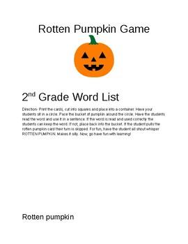 Rotten Pumpkin Game