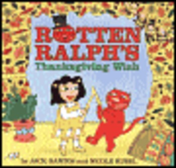 Rotten Ralphs Thanksgiving by J. Gantos