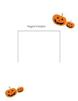Rotting Vs Regular Pumpkin Observation