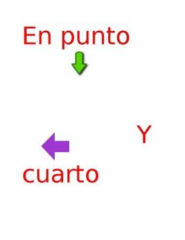 Rotulos para reloj en español