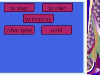 Rouge Unit 6 vocabulary power point