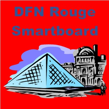 Rouge Unit 5 Vocabulary Activities for Smartboard
