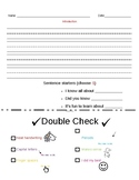 Rough Draft Writing Pages-Informative Writing