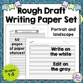 Rough Draft Writing Paper Set