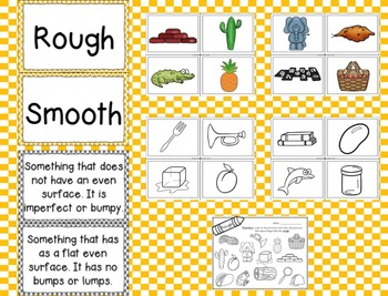Rough and Smooth: A Sorting by Property Science Mini-Unit