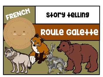 Roule Galette-A French version of the Gingerbread Man story