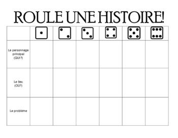 Roule Une Histoire: à remplir!