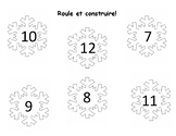 Roule et construire avec les flocons de neige 7-12