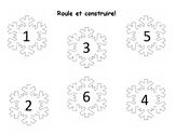 Roule et construire aves les flocons de neige #1-6!