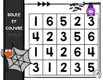 Roule et couvre - Halloween