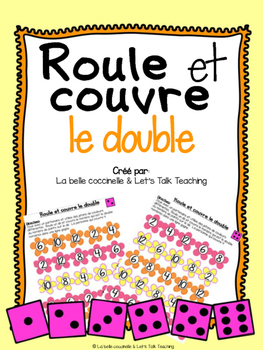 Roule et couvre le double - French Roll and Cover Dice Game - Doubles