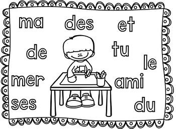 Roule et écris! Édition française - Les mots de 2/3/4 lettres