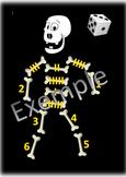 Roule le dé du squelette