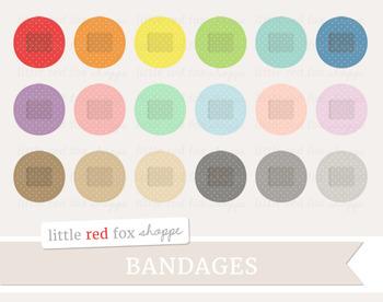 Round Bandage Clipart; Medical, Baindaid, First Aid