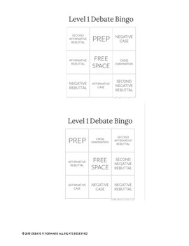 Round Bingo