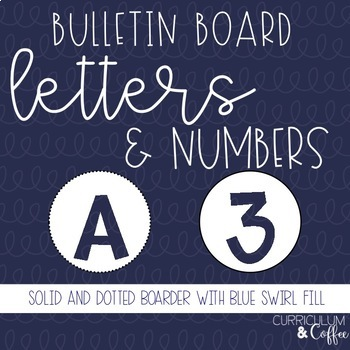 Round Bulletin Board Letters