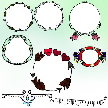 Round/Circular Frames and a Bit More