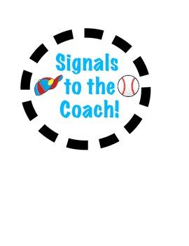 Round Coaches Hand Signals