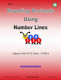 Round Decimals using Number Line - 5.NBT.4