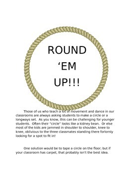Round 'Em Up: Circle Time in a jiffy!
