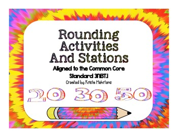 Round It! Activities and Stations aligned to the Common Core