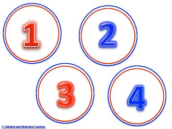 Round Number Cards