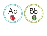 Round Owl Word Wall Labels