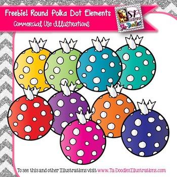 Round Polka Dot Elements
