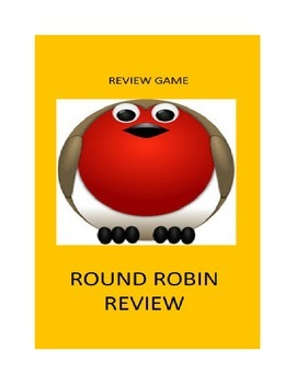 Review Game For Any Classroom:  Round Robin Review