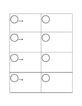 Round Robins Student Answer sheet