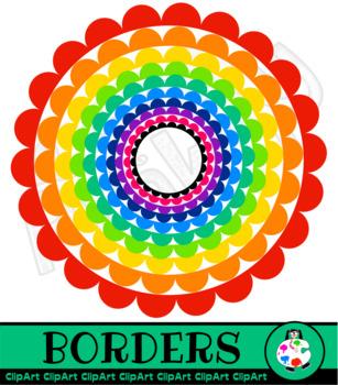 Round Scallop Borders
