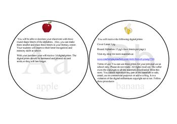 Round Shape ABC's