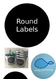 Round Student Labels