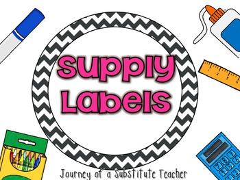 Round Supply Labels