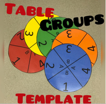 Round Table Groups Template