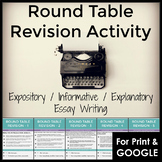 Revising and Editing Activity for Expository, Informative & Explanatory Writing