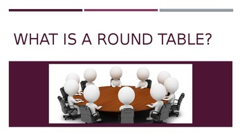Round Table and Connectors