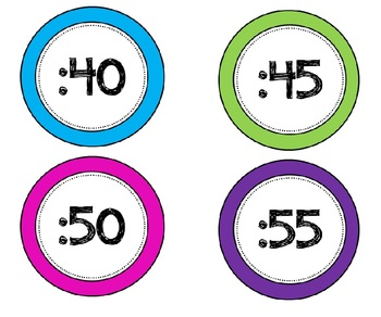 Round The Clock Labels