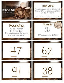 Round-Up  (A Rounding Activity)