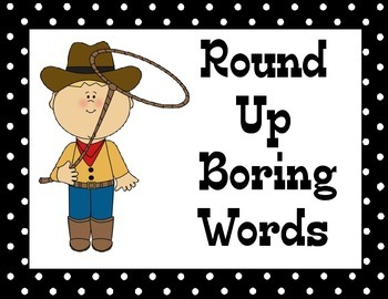 Round Up Boring Words