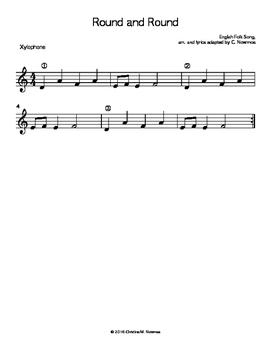 Round and Round - English Folk Song Orff Arrangement