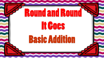 Round and Round It Goes Basic Addition Game