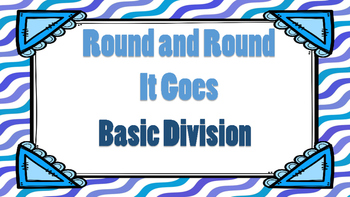 Round and Round It Goes Basic Division Game