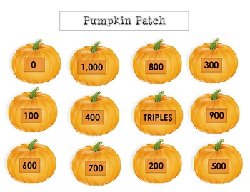 Round as a Pumpkin - Rounding Game -  round to nearest 100 (now a PDF )