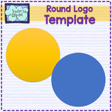 Round logo template {includes a visual tutorial to learn to design your logo}