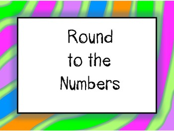Round the Numbers